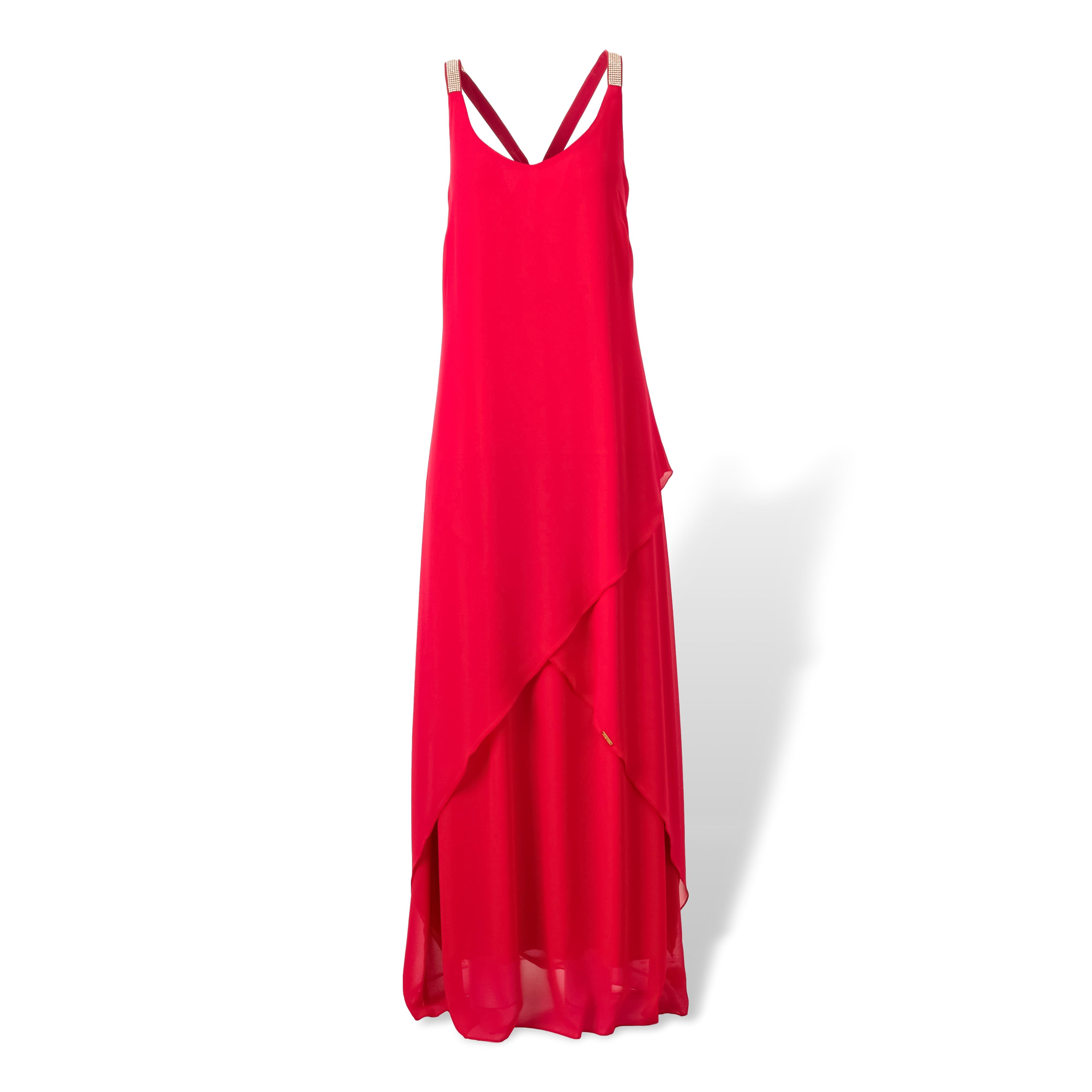 Μάξι Φόρεμα με τιράντες Α γραμμή image