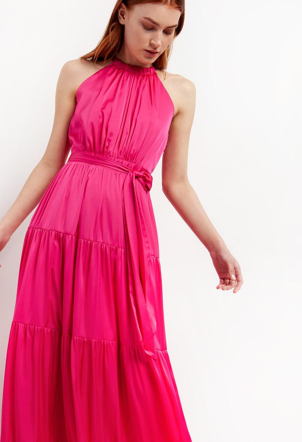 Μάξι φόρεμα halter image